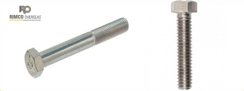 Titanium Grade 3 Bolts Manufacturers in India|Suppliers in India